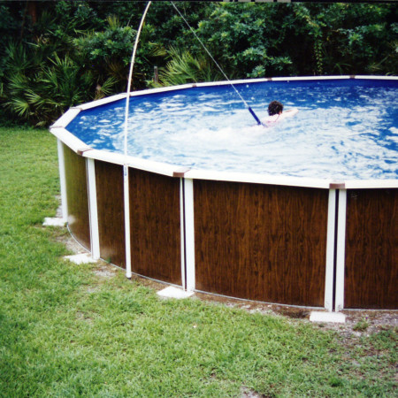 Super Swim System With Above Ground Pool Adapter Base